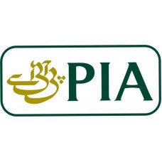 PIA car sticker, transparent, waterproof, 6  inch wide