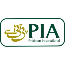 PIA Logo vinyl sticker, transparent, waterproof, 12 inch wide