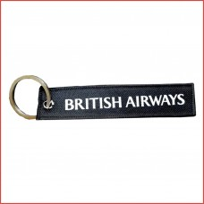 British airways tag, printed, double sided