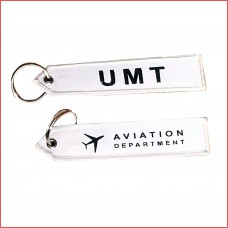 UMT Aviation tag, keychain, double sided